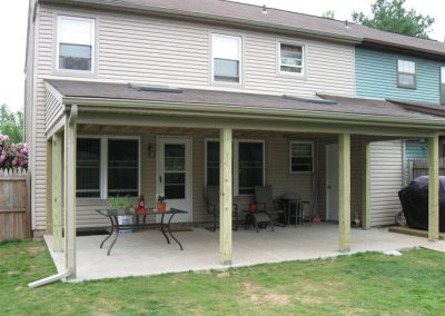 Rear Porch Addition